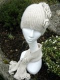 Rebecca Hat and Scarf  Knitting Kit