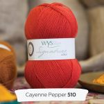 WYS - 4ply - Cayenne Pepper