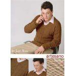 Amigo V Necked Sweater knitting pattern