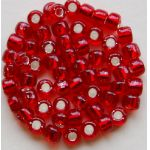 Debbie Abrahams Glass Beads Silver lined Size 6.00  - 38