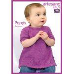 Poppy Toddlers Dress  Knitting Pattern
