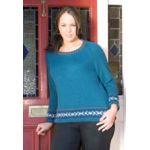 Carolyn - Curves Knitting Pattern