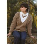 Serenity -- Aran  Knitting Pattern
