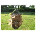 Spiral Wild Bird Feeder with nesting fibre