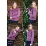 Malin -- Aran  Knitting Pattern