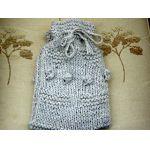 My Heart Hot Water Bottle Cover Knitting Kit