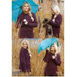 Bailey -- Aran  Knitting Pattern