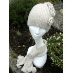 Rebecca Hat and Scarf  Knitting Pattern