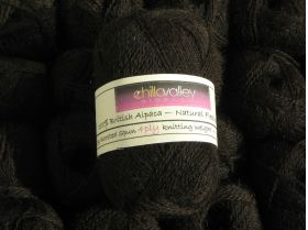 Chilla Valley Alpaca 4ply ~Chocolate Dream
