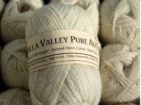 Vanilla Chilla Valley 100% Alpaca 4 ply