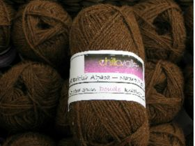 Cocoa - Chilla Valley 100% Alpaca  Double Knitting Yarn