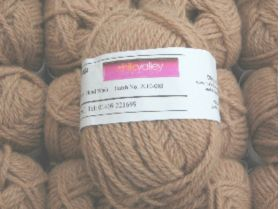Devon Fudge Chilla Valley 70% Alpaca 30% Blue Faced L