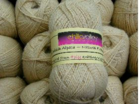 Honey-  Chilla Valley 100% Alpaca 4ply