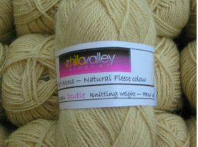 Honey - Chilla Valley 100% Alpaca  Double Knitting Yarn