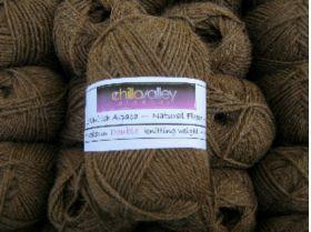 Milk Chocolate - Chilla Valley 100% Alpaca Double Knitting Yarn