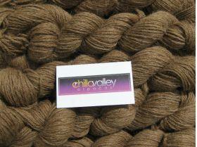 Milk Chocolate  - Chilla Valley 100% Alpaca  Aran Yarn