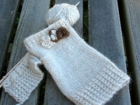 Harmony  - Mittens - Knitting Kit