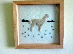 Latte the Alpaca Embroidery  Kit