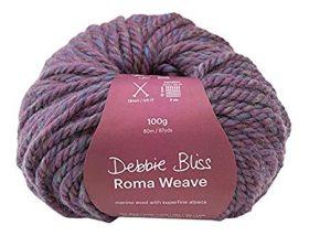 Heather - o5 - Debbie Bliss Roma Weave