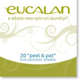 Eucalan peel and pat lint remover sheets