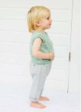 Debbie Bliss Baby Cashmerino Tonals Simple Tank