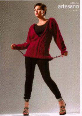 Lauren -- Aran  Knitting Pattern