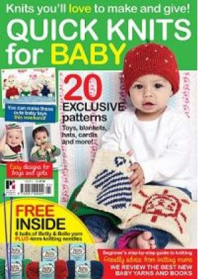 Quick Knits for Baby Pattern Yarn Kit