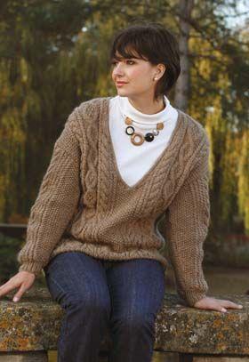 Serenity -- Aran  Knitting Pattern