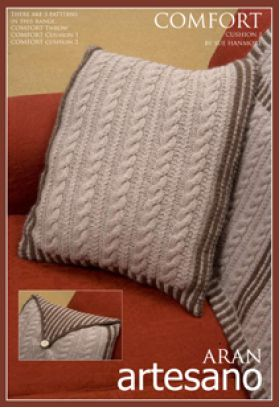 Comfort Cushion 1 Knitting Pattern