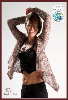 Zoe -- Lace Weight   Knitting Pattern