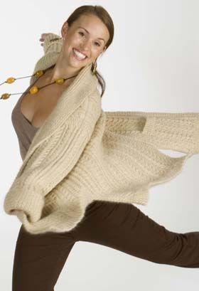 Adorable - Aran  Knitting Pattern