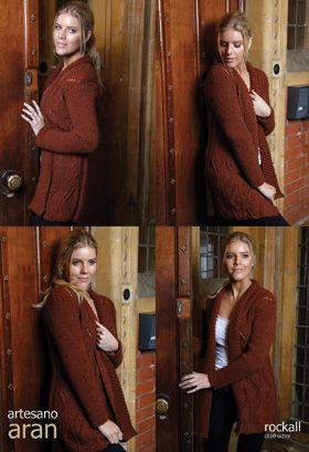 Rockall -- Aran  Knitting Pattern