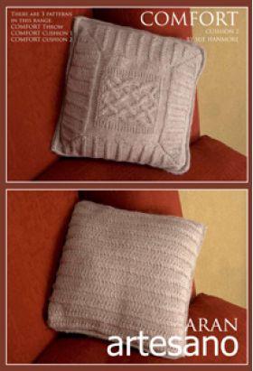 Comfort Cushion 2 Knitting Pattern